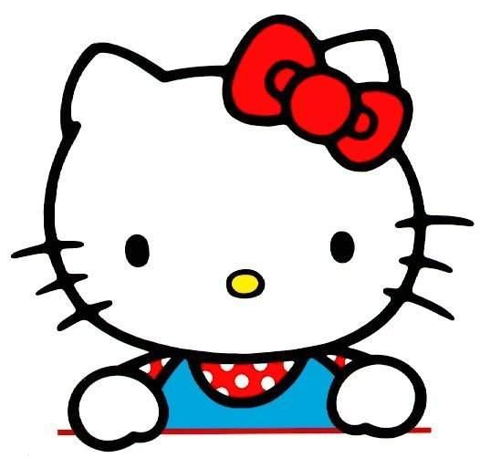 Maestra de Infantil: Hello Kitty. Dibujos para colorear.